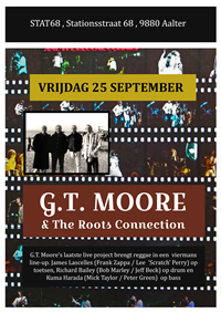 G.T. Moore & The Roots Connection Poster